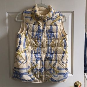 J.McLaughlin Reversible Vest, Medium